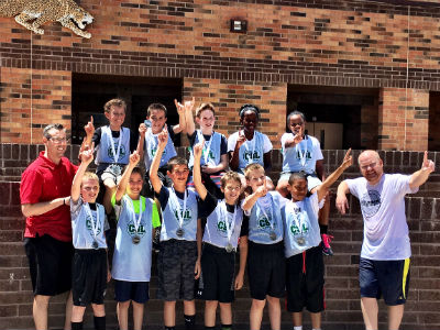 Hancock's Basketball Team, Silver Division Tournament Champs!