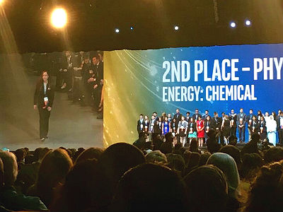ACP Erie 11th Grader, McKenna Loop, ISEF 2nd place winner