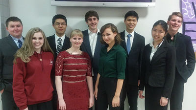 Hamilton Academic Decathlon Team