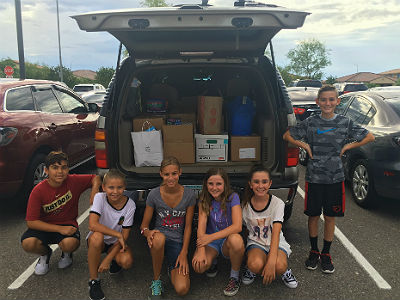 Ryan Student Council Supply Drive