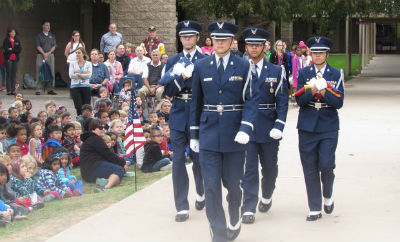 Chandler High Air Force Junior Reserve Officer Training Corps (AFJROTC)