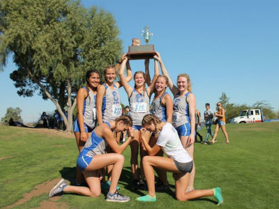 CHS Girls Cross Country Team