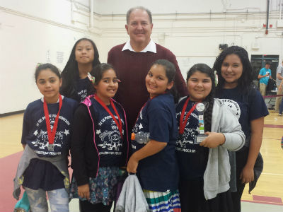 The Galveston Robotics Club, sponsored by Si Se Puede