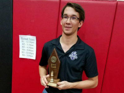 Bryson Gregory, 2016-2017 AIA State Chess Champion