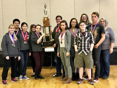Hamilton Academic Decathlon Regional Champs