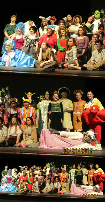Hamilton High School Theatre Department is back in action with their spring play, 'Shrek the Musical'