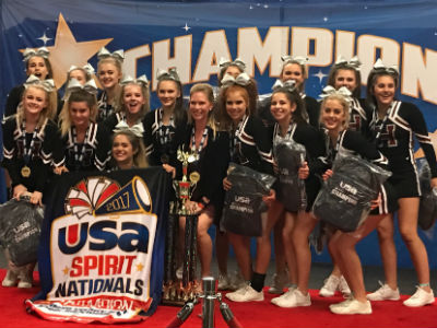 Varsity Cheer at the USA Spirit National Championship