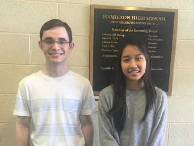 Hamilton's The Williams Institute Essay Contest winners