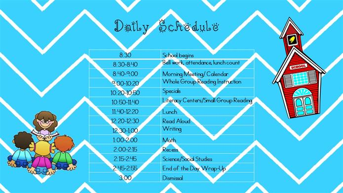 daily sched