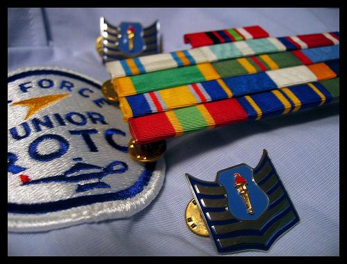 Virtual ribbon rack air force junior rotc for Air force decoration guide