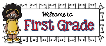 Welcome to 1st Grade Banner