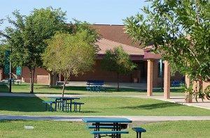 Tarwater courtyard