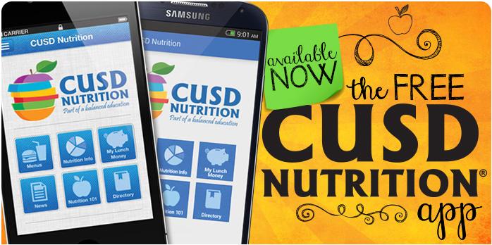 Cusd Food Nutrition Services
