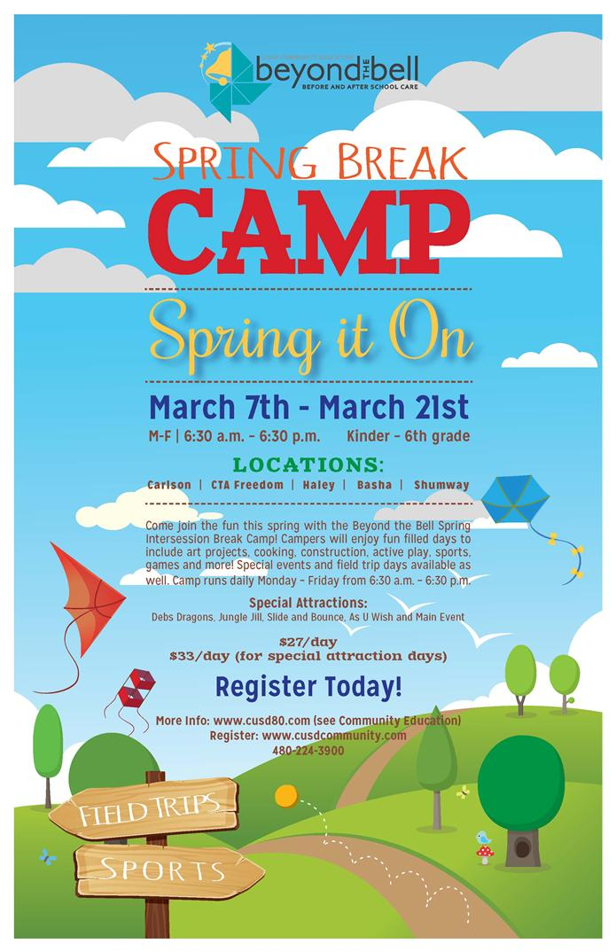 2016 Beyond the Bell Spring Break Camp