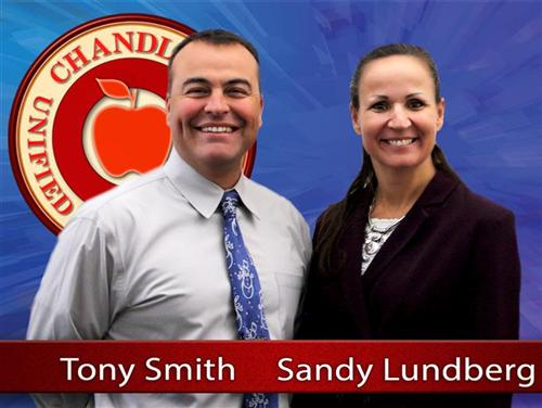 Principals Tony Smith and Sandy Lundberg