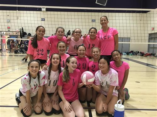 7th grade dig pink champs