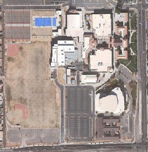 Arial View of Chandler 2006