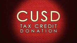 CUSD Tax Credit Donation